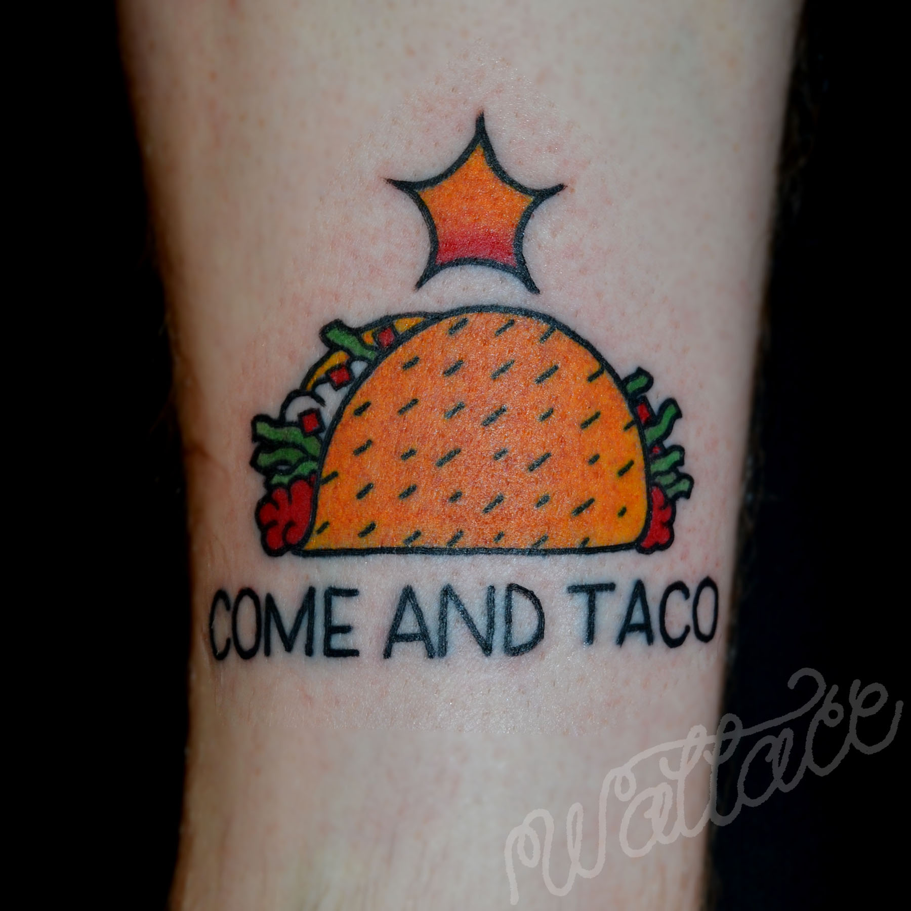19 badass taco tattoos the taco cleanse