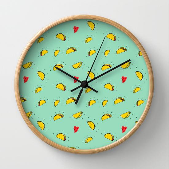 Taco Clock