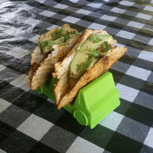Matzo taco